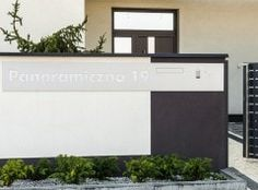 Modern Post Box House Fence Design, Door Design, Main Gate, Modern Fence, Post Box, Backyard Fences, Doors, Welding, Outdoor Decor
