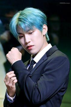 Green Hair, Blue Hair, Bravest Warriors, Kim Dong, Lee Daehwi, Kim Jaehwan, Ha Sungwoon, Korean Group, Stay Young