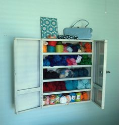 Perfect For Yarn Storage