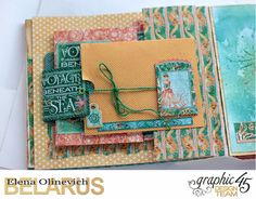 Nautical Album, by Elena Olinevich, Voyage Beneath the Sea, Product by Graphic45, Photo5.jpg