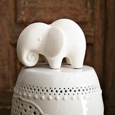 I'm a fan of Elephants so I need to have this Ceramic Elephant
