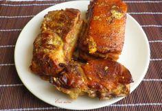 Tejben sült császárhús   NOSALTY Tandoori Chicken, Pork, Turkey, Ethnic Recipes, Happy, Blog, Kale Stir Fry, Turkey Country, Ser Feliz