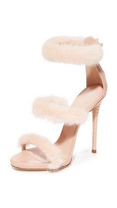 GIUSEPPE ZANOTTI . #giuseppezanotti #shoes #fur