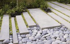Peterson Residence, Tiburon, California Surface Design Inc. Landscape Architecture, Landscape Design, Garden Design, Landscape Materials, Garden Paving, Garden Paths, Modern Landscaping, Garden Landscaping, Modern Backyard