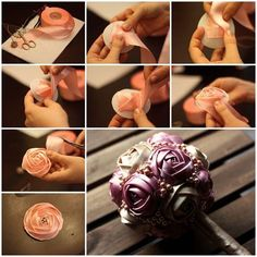 """<input class=""""jpibfi"""" type=""""hidden"""" >There are many creative ways to make a beautiful fabric flower. I have featured a couple of these projects on my site. If you are interested, you can search for them using the keyword """"ribbon"""". Today I am excited to…"""