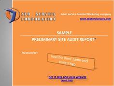 sample-site-audit-report-22181795  via Slideshare