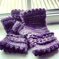 "Picot Fingerless Gloves - a new pattern available soon from Rain Chime Fiber Arts. These are feminine and pretty in hand-dyed alpaca, colorway ""Gumboot""."
