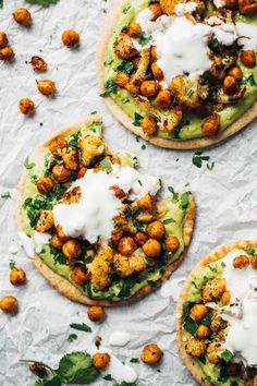 Roasted Veggie Pitas with Avocado Dip (via Bloglovin.com )