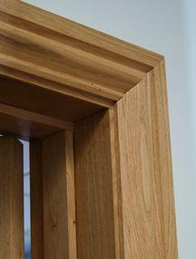 Oak Architrave from Broadleaf Timber Oak Interior Doors, Door Design Interior, Oak Doors, Wooden Doors, Door Gate Design, Main Door Design, Wooden Door Design, Architrave Door, Door Frame Molding