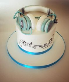 Write name on pictures by stylizing their names and captions by generating text on Amazing Earphones Birthday Name Cake with ease. Butterfly Birthday Cakes, 16 Birthday Cake, Birthday Cakes For Teens, Birthday Name, Brother Birthday, 17th Birthday, Birthday Wishes, Happy Birthday, Choc Ganache