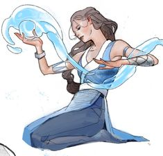 "manillalu: ""haven't drawn fan art in 4 years wow. My friend just watched Avatar the Last Airbender for the first time and she really likes Zuko and Katara as a. Avatar Aang, Zuko And Katara, Avatar The Last Airbender Art, Team Avatar, Fanfiction, Water Tribe, Korrasami, Fire Nation, Legend Of Korra"