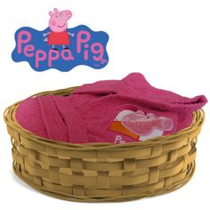 accappatoio peppa pig hearts