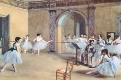 """The Dance Foyer At The Opera"" by Edgar Degas"