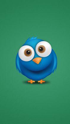Blue bird iphone 6 wallpaper http://iphonedigital.es/fondos-pantalla-para-iphone-6-hd/ #iphone6wallpaper #iphonewallpaper