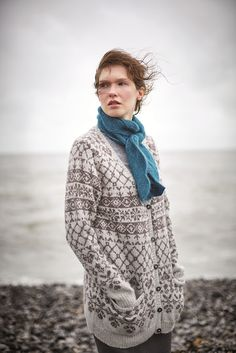 Ravelry: Reya pattern by Marie Wallin Knitting Patterns Free, Knit Patterns, Free Knitting, Knitting Sweaters, Knitting Ideas, Norwegian Knitting, Fair Isle Pattern, Fair Isle Knitting, Warm Outfits