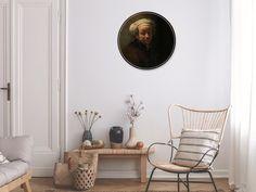 Muurcirkel van apostel Paulus geschilderd door Rembrandt van Rijn. Een schilderij met duidelijk zichtbare penseelstrepen, met mooie donkere kleuren. Een oude meester die ook mooi staat bij jou aan de muur. Kies zelf het gewenste formaat en materiaal.