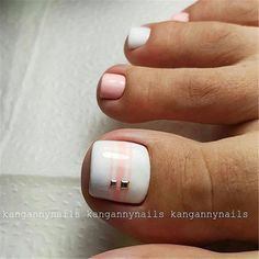 17 Ideas french pedicure designs toenails pretty toes for 2019 Pretty Toe Nails, Cute Toe Nails, My Nails, Gel Toe Nails, Pretty Pedicures, Pretty Toes, Toe Nail Color, Toe Nail Art, Toenail Art Designs