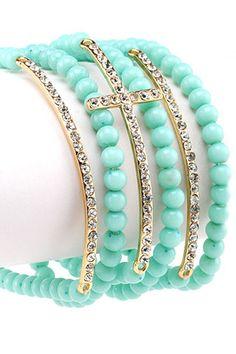 Turquoise Shimmer Bracelet. Beautiful