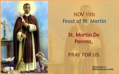 #SaintMartin #Feast #PrayForUs
