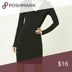 🎄SALE Forever 21 Black Long Sleeve Dress Brand new with tags!  Excellent condition!  * Same or next day shipping.  * NO Trade! Forever 21 Dresses Long Sleeve