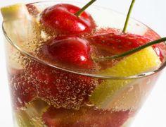 Bebidas refrescantes con agua mineral