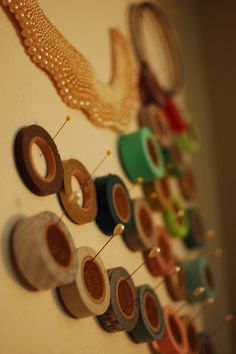 great way to display and organize washi tape
