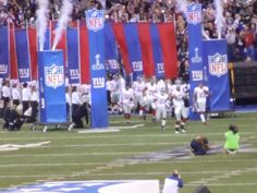 Here they come....ready for SB XLVI
