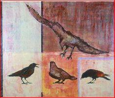 """""""On the Street""""  A Terry Davitt Powell original www.CrowCentric.com"""