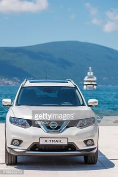Tivat, Montenegro - May 27, 2016: Nissan X-trail SUV on... #tivat: Tivat, Montenegro - May 27, 2016: Nissan X-trail SUV on Tivat's… #tivat