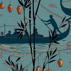 Papier peint Gondola COLE AND SON