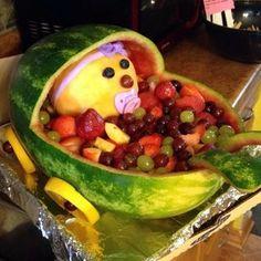 Watermelon Baby Cradle
