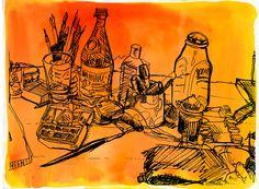 Copyrights Danny Gregory http://www.sketchbookskool.com