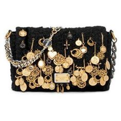 Dolce & Gabana. Crochet Charm Bag.  Pinned from PinTo for iPad  ( VIP Fashion Australia www.vipfashionaus... - international clothes shop )