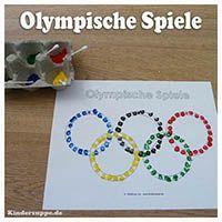 Projekt Olympische Spiele Kindergarten und Kita-Ideen