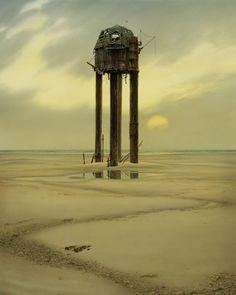 WATCHTOWER (1999) by Michael Whelan