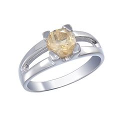 Sterling Silver Citrine Ring 060 CT In Size 9 >>> Read more  at the image link. Note: It's an affiliate link to Amazon.