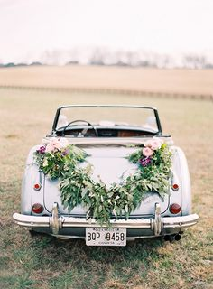 Elegant Ranch Wedding Ideas - Real Weddings - Once Wed Elegant Wedding, Perfect Wedding, Our Wedding, Wedding Cars, Fall Wedding, Wedding Season, Chic Wedding, Wedding Bride, Tuscan Wedding