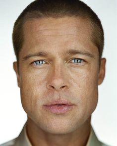 Martin Schoeller · Brad Pitt · 2004