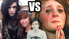 One Directioners vs BVB Fans (Black Veil Brides Fangirls) this may upset some 1D fans but I laughed way to hard at the 1D part and enjoyed the bvb part the best. SEE WE ARENT SELF HARMING EMOS! WE ARE BETTER THAN 1D FANS (according to this video) NO HATEFUL COMMENTS PLEASE!!!