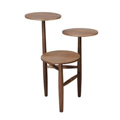 Tripod Side Table - Low from Lush Wood Sample, New Living Room, Retro, Teak, Bar Stools, Designer, Dining Chairs, House Design, Table