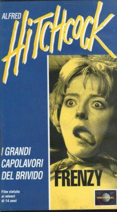 VHS=Frenzy (1972) VHS=ALFRED HITCHCOCK=DEAGOSTINI NOVARA