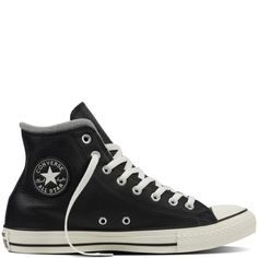 Chuck Taylor All Star Leather + Wool Black