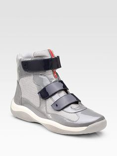 No big deal, but I will go straight up euro trash with these Prada high tops. Cannot stop it.
