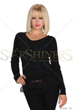 Awesome Experience Black Blouse