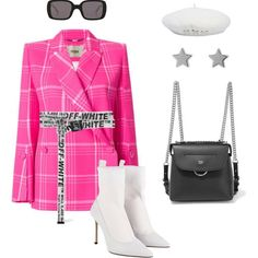 (wore with matching capris, white Dior heels, and white cat ear sunglasses) High Fashion Outfits, Stage Outfits, Kpop Outfits, Chic Outfits, Teen Fashion, Korean Fashion, Girl Outfits, Womens Fashion, Summer Outfits