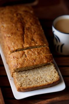 eggless banana bread recipe Tried it gluten free, turned out really good!!