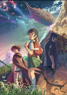 Children Who Chase Lost Voices / Die Reise nach Agartha / Hoshi o Ou Kodomo 星を追う子ども / Ловцы забытых голосов Lost Voice, The Voice, Top Movies, Movies And Tv Shows, Hoshi O Ou Kodomo, Miyu Irino, Peliculas Audio Latino Online, Animes To Watch, Anime Watch