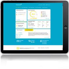 TransUnion   Login Credit Score, Homescreen