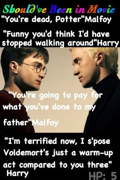 Harry Potter and the Order of the Phoenix Should've Been in Movie Harry Malfoy Skeeter article Quibbler Death Eaters