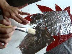 http://www.vivedkora.com En este video encontrará una resumida demostración de los pasos necesarios para crear una obra de arte utilizando la técnica de text...